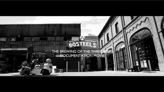 THE BREWING OF THE BEERS BREWERY BOSTEELS